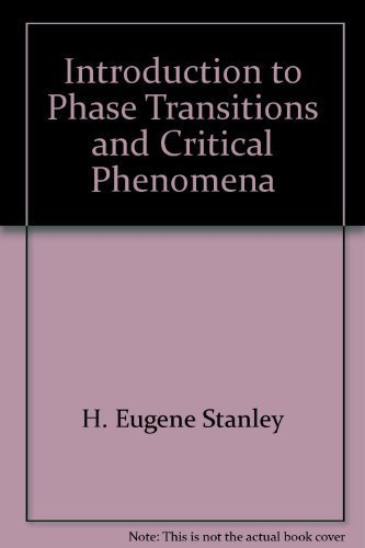 9780198512578: Introduction to Phase Transitions and Critical Phenomena (Monographs on Physics)