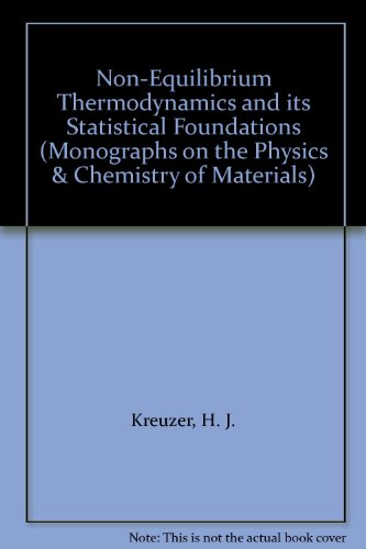 9780198513759: Nonequilibrium Thermodynamics and Its Statistical Foundations