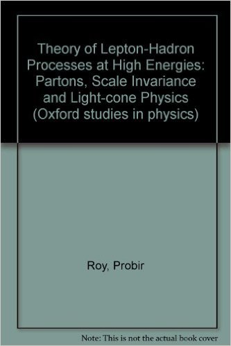 9780198514527: Theory of Lepton-Hadron Processes at High Energies: Partons, Scale Invariance and Light-cone Physics (Oxford studies in physics)