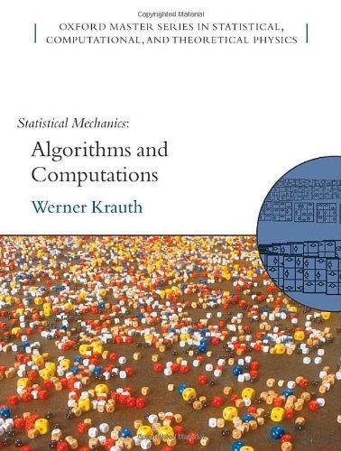9780198515357: Statistical Mechanics: Algorithms and Computations