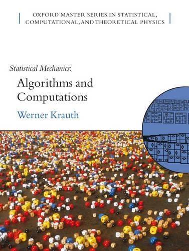 9780198515364: Statistical Mechanics: Algorithms and Computations