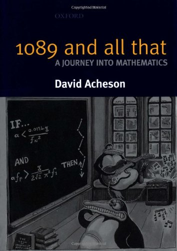 9780198516231: 1089 and All That - A Journey into Mathematics