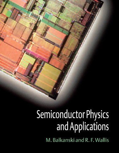 9780198517405: Semiconductor Physics and Applications (Series on Semiconductor Science and Technology)