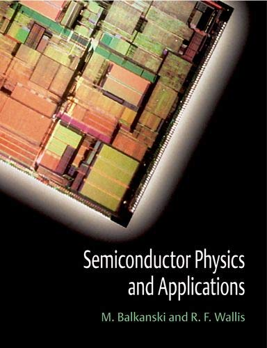 9780198517412: Semiconductor Physics and Applications (Series on Semiconductor Science and Technology)
