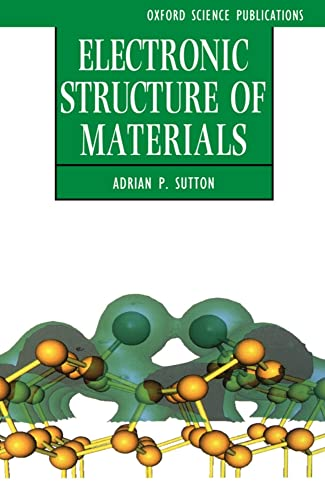 9780198517542: Electronic Structure of Materials (Oxford Science Publications)