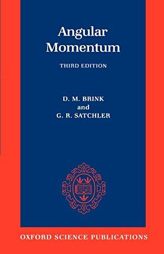 9780198517597: Angular Momentum