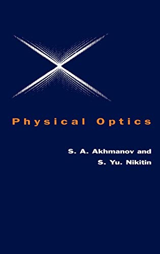 9780198517955: Physical Optics