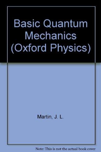 9780198518150: Basic Quantum Mechanics (Oxford Physics Series)