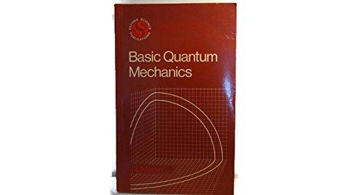 9780198518167: Basic Quantum Mechanics (Oxford Physics Series)