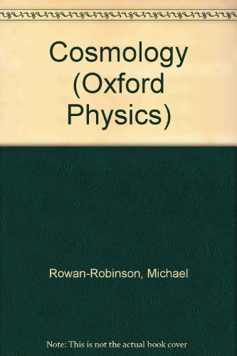 9780198518570: Cosmology (Oxford Physics)
