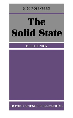 9780198518709: The Solid State: An Introduction to the Physics of Crystals for Students of Physics, Materials Science, and Engineering (Oxford Physics Series)
