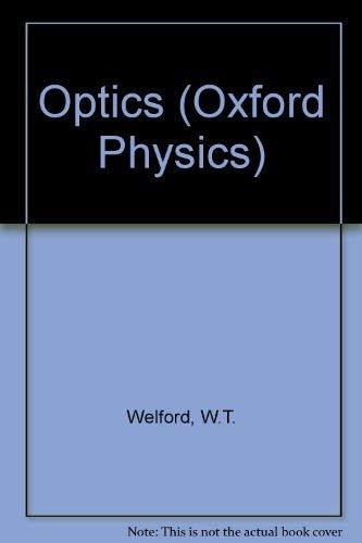9780198518754: Optics