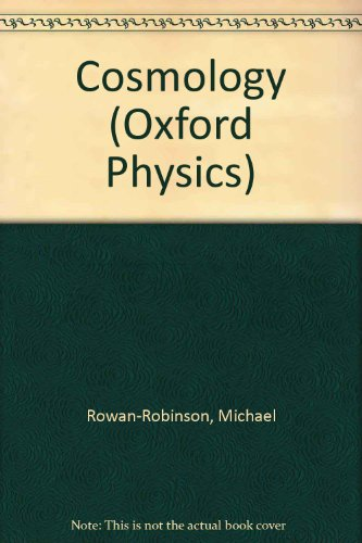9780198518853: Cosmology (Oxford Physics S.)