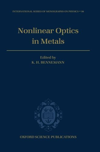 9780198518938: Nonlinear Optics in Metals (International Series of Monographs on Physics)