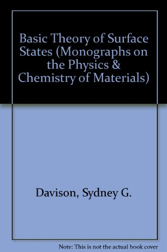 9780198519904: Basic Theory of Surface States (Monographs on the Physics & Chemistry of Materials)