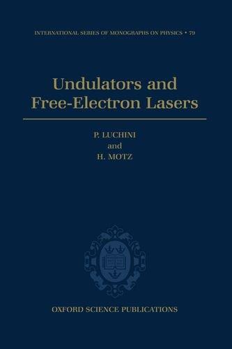 9780198520191: Undulators and Free-electron Lasers (International Series of Monographs on Physics)