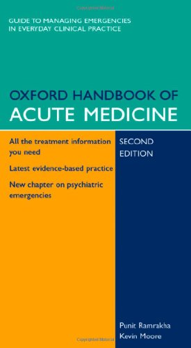 9780198520726: Oxford Handbook of Acute Medicine (Oxford Handbooks Series)