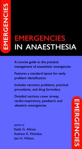 9780198520993: Emergencies in Anaesthesia