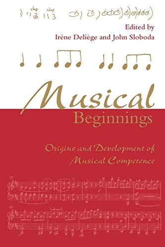 9780198523321: Musical Beginnings: Origins and Development of Musical Competence