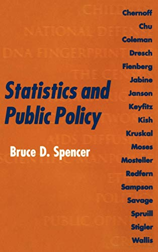 9780198523413: Statistics and Public Policy