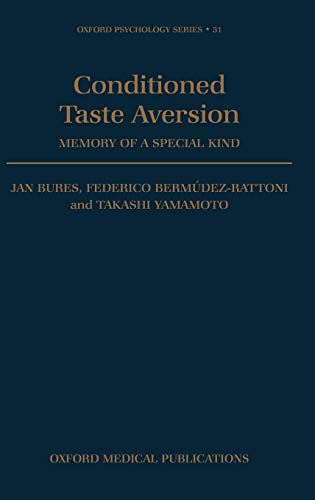 taste aversion Taste aversions are tricky because the variables are not intuitively drawn from the principles of classical conditioning it's also important to point out that trying out a new food and then feeling sick from it because you don't enjoy how it tastes is not a taste aversion.