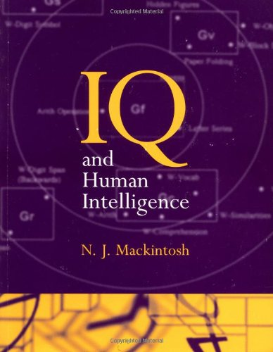 9780198523673: IQ and Human Intelligence