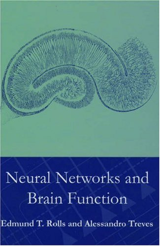 9780198524335: Neural Networks and Brain Function