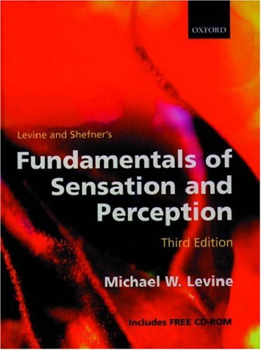 9780198524670: Fundamentals of Sensation and Perception (Book with CD-ROM)