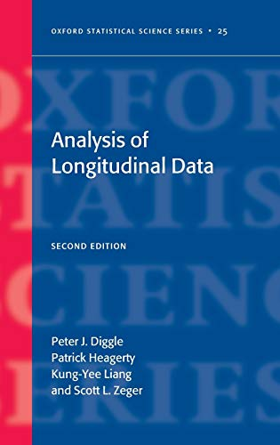 9780198524847: Analysis of Longitudinal Data second edition (Oxford Statistical Science Series)