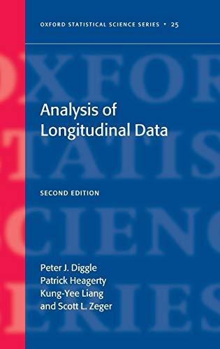 9780198524847: Analysis of Longitudinal Data