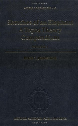 9780198524960: Sketches of an Elephant: A Topos Theory Compendium: 2 Volume Set