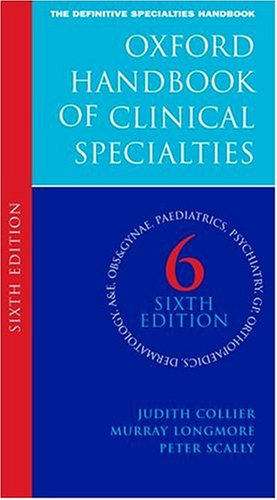 9780198525189: Oxford Handbook of Clinical Specialties (Oxford Handbooks Series)