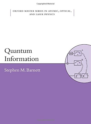 9780198527626: Quantum Information (Oxford Master Series in Physics)