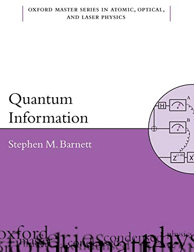 9780198527633: Quantum Information (Oxford Master Series in Physics)