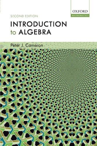 9780198527930: Introduction to Algebra
