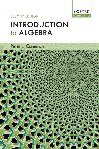9780198527930: Introduction to Algebra