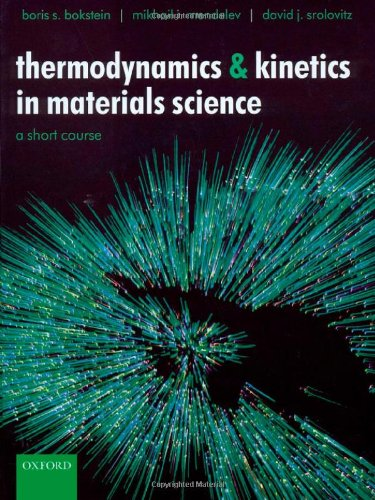9780198528036: Thermodynamics and Kinetics in Materials Science: A Short Course Includes CD-ROM