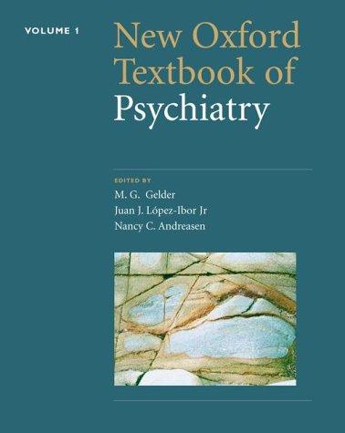 9780198528180: New Oxford Textbook of Psychiatry (Volume 1)