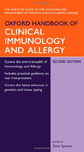 9780198528661: Oxford Handbook of Clinical Immunology and Allergy (Oxford Handbooks Series)