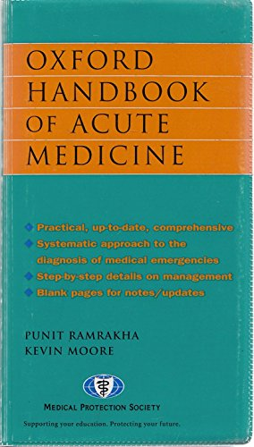 9780198529057: OXFORD HANDBOOK OF ACUTE MEDICINE.