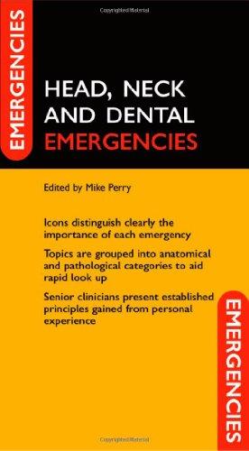 9780198529101: Head, Neck, and Dental Emergencies (Emergencies in...)