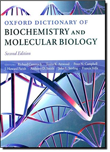 9780198529170: Oxford Dictionary of Biochemistry and Molecular Biology