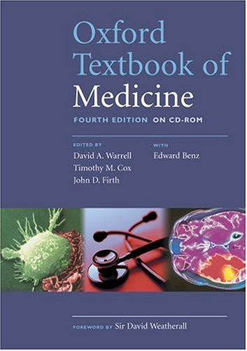 9780198529507: Oxford Textbook of Medicine: CD-ROM: Single-user license