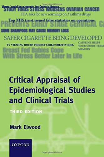 9780198529552: Critical Appraisal of Epidemiological Studies and Clinical Trials