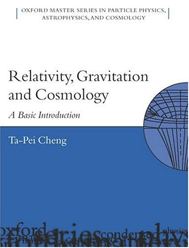 9780198529569: Relativity, Gravitation, and Cosmology: A Basic Introduction (Oxford Master Series in Physics)