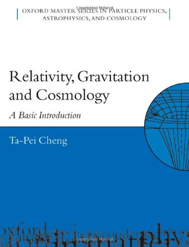 9780198529576: Relativity, Gravitation, and Cosmology: A Basic Introduction (Oxford Master Series in Physics)