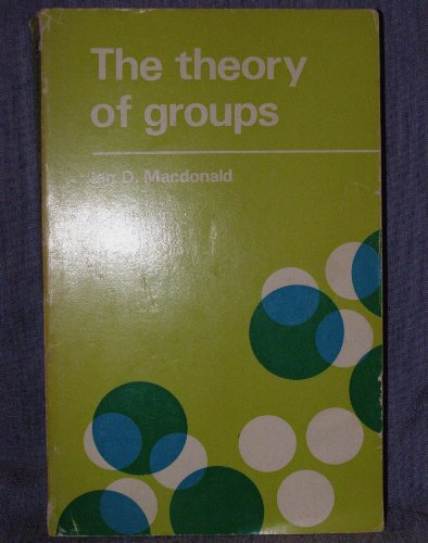 9780198531388: Theory of Groups