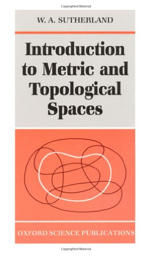 9780198531616: Introduction to Metric and Topological Spaces