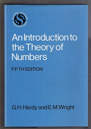 9780198531708: Introduction to the Theory of Numbers