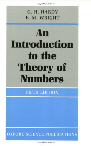 9780198531715: An Introduction to the Theory of Numbers (Oxford Science Publications)